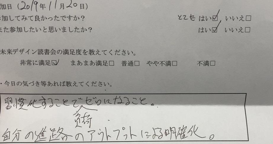 読書会 レポート
